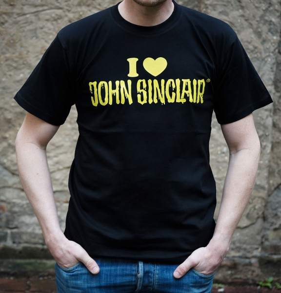 T-Shirt - I Love John Sinclair (unisex)