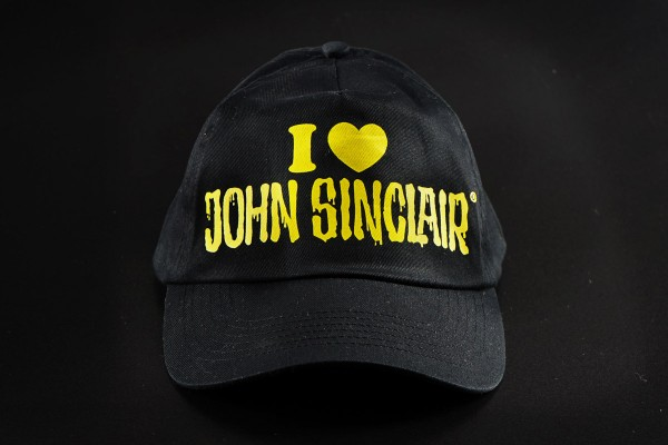 "Cap ""I love John Sinclair"""