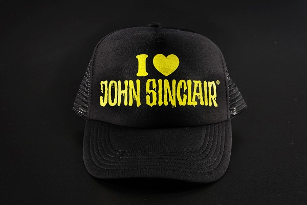 "Trucker Cap ""I love John Sinclair"""