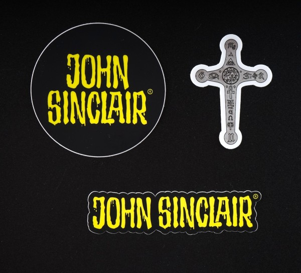 Sticker SET - John Sinclair