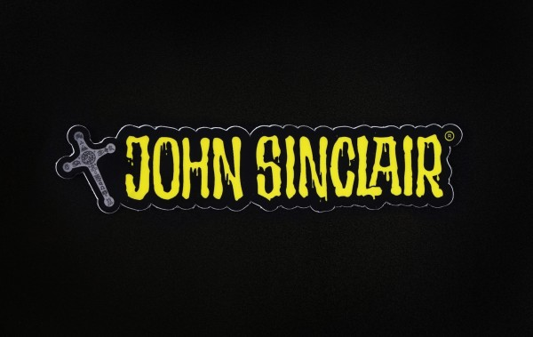 Sticker - John Sinclair mit Kreuz