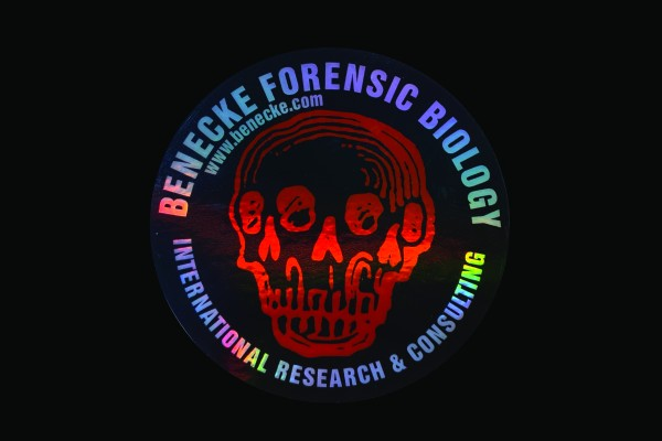 Hologramm Sticker - Benecke Forensic Biology